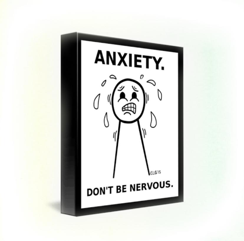 anxiety in hindi