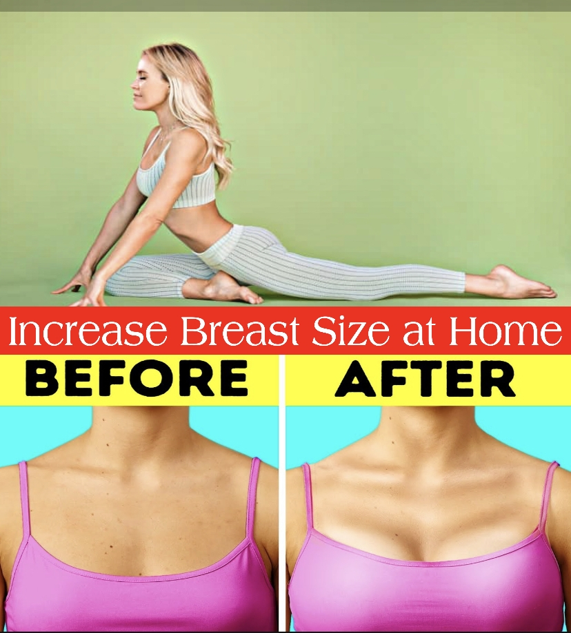 yoga to increase breast size at home